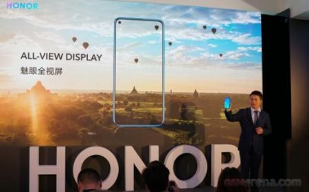 Honor View 20 показали журналистам